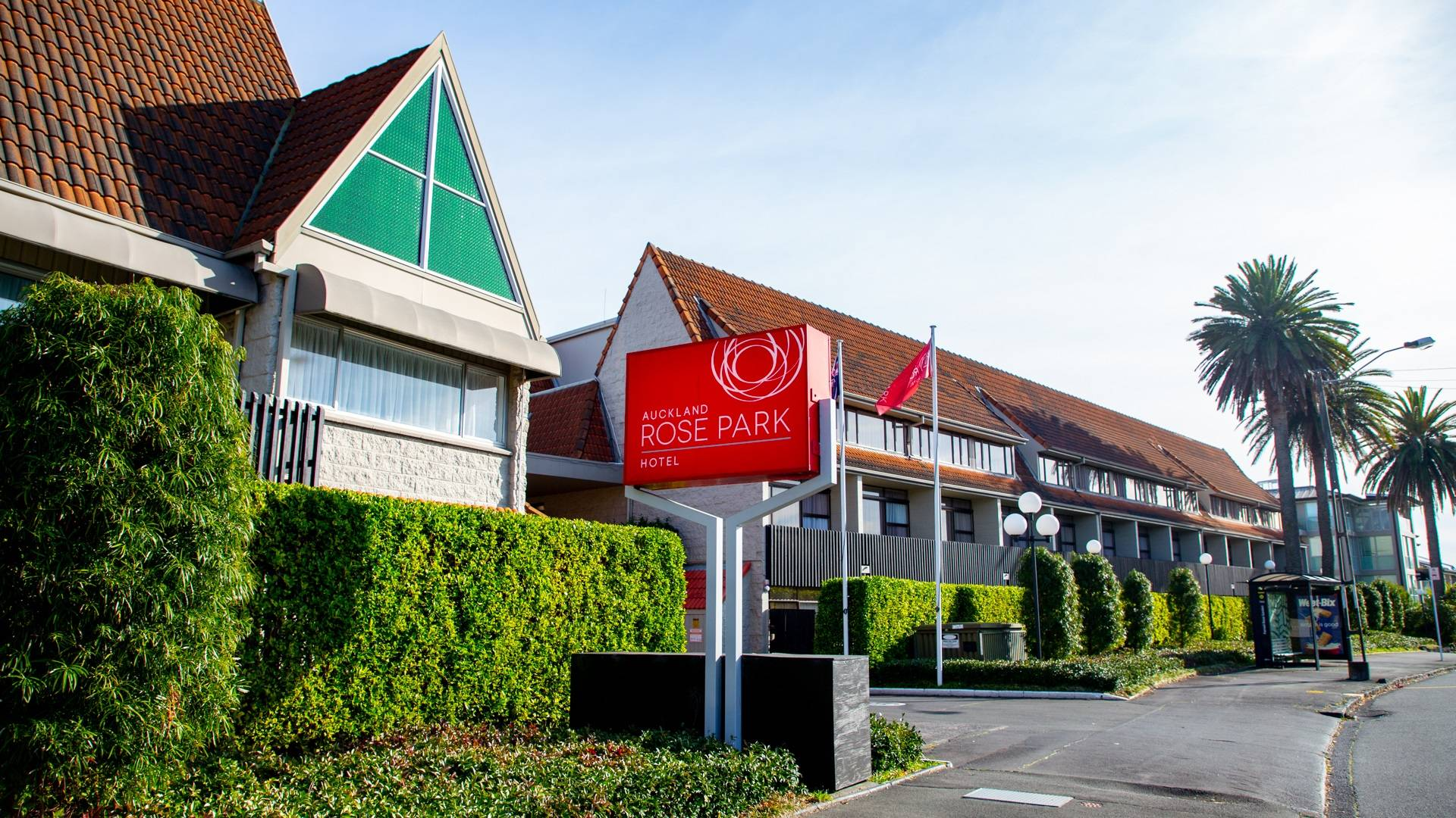 Auckland Rose Park Hotel Exterior